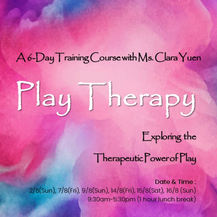 6-DAY PLAY THERAPY TRAINING COURSE